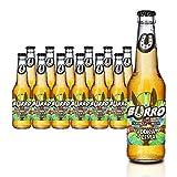 Burro de Sancho Vodka + Lima. Cerveza con sabor Vodka - Lima. Alc. 5,9% vol. Caja con 24 botellas de 330 ml