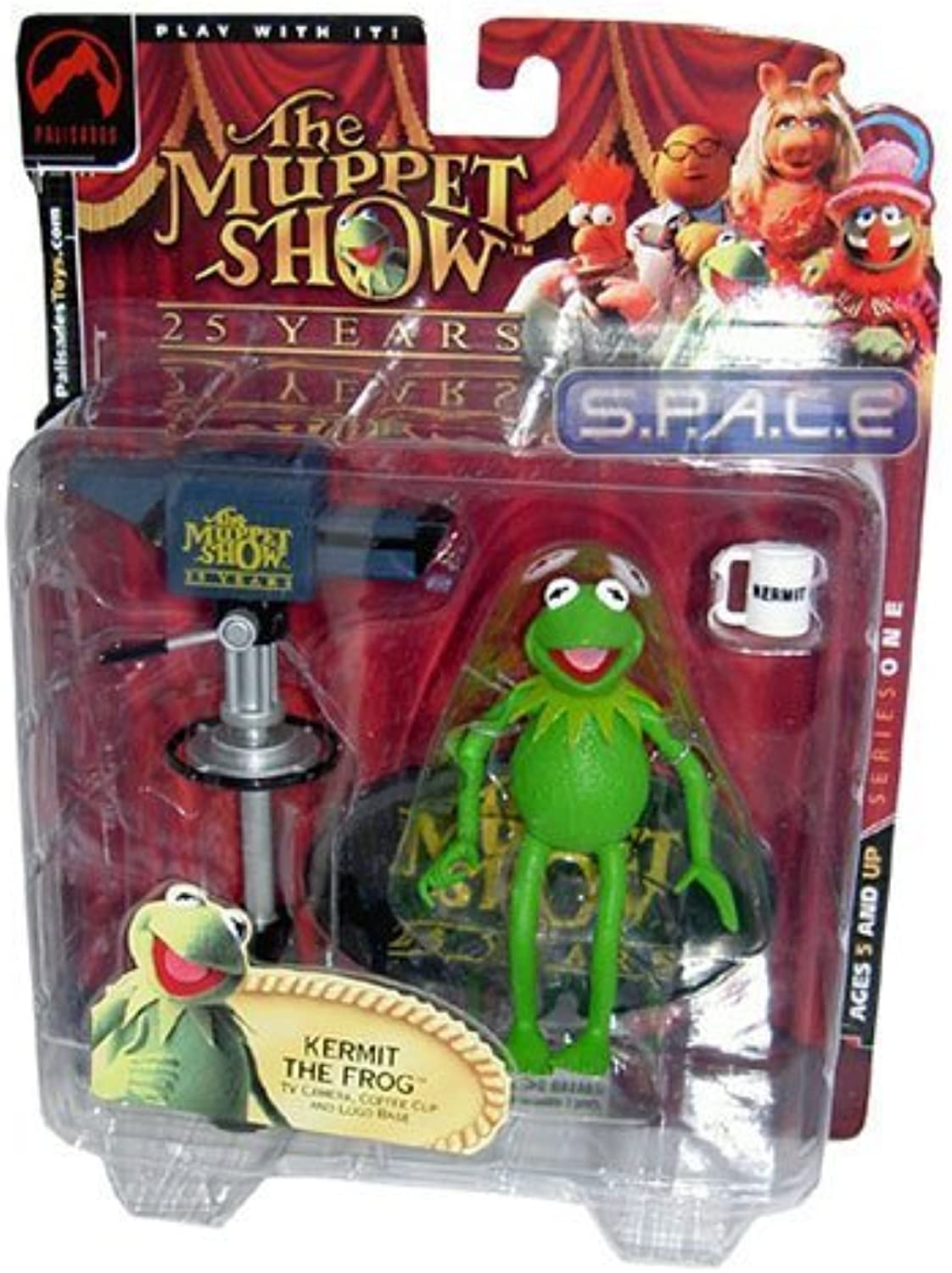 The Muppets Series 1 Action Figure Kermit The Frog by Palisades