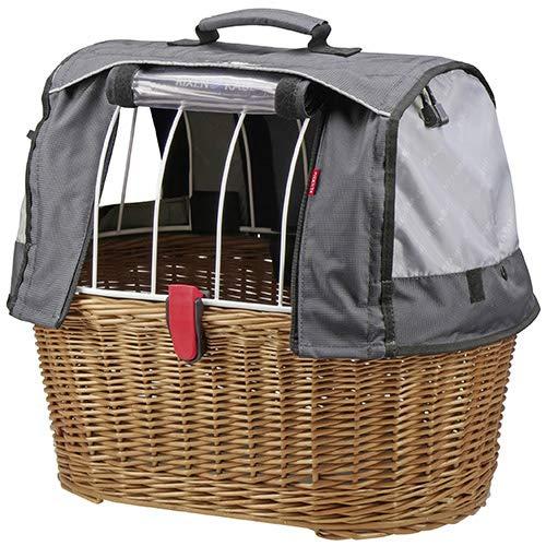 KLICKfix Hundeshopper Doggy Basket Plus braun, 45x52x36 cm, GTA (1 Stück)