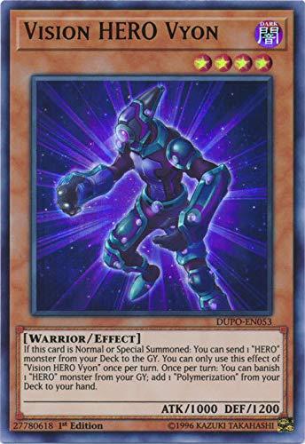 Yu-Gi-Oh! - Vision Hero Vyon - DUPO-EN053 - Ultra Rare - 1st Edition - Duel Power