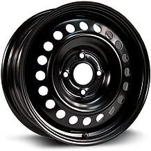 RTX, Steel Rim, New Aftermarket Wheel, 16X6.5, 4X114.3, 66.1, 45, black finish X46645