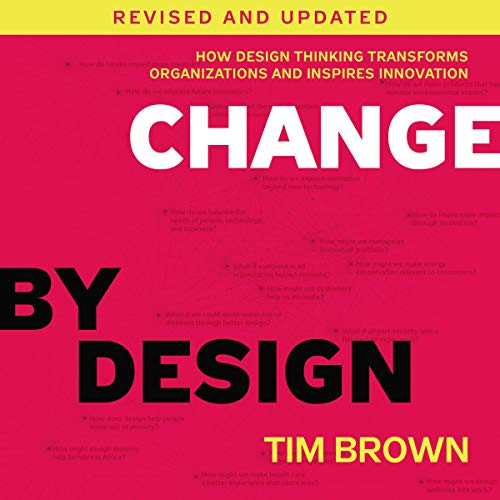 Change by Design, Revised and Updated audiobook cover art