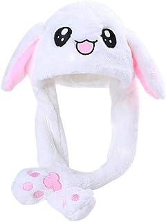 dressfan Giocattolo del cappello dell'orecchio di coniglio della peluche delle ragazze delle ragazze divertenti Regalo di ...