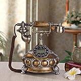 Teléfonos antiguos vintage Europeo moda teléfono antiguo hogar oficina retro...