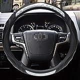 Funda para volante de coche 3D antideslizante, para Toyota Land Cruiser Prado 90100120150200300 Fj Cruiser Auto Accesorios
