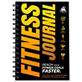 Clever Fox Fitness & Workout Journal/Planner Daily Exercise Log Book to Track Your Lifts, Cardio, Body Weight Tracker -...