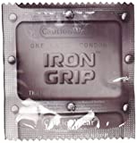 Caution Wear Iron Grip Snug Fitting Lubricated Latex Condoms (Pack of 50)