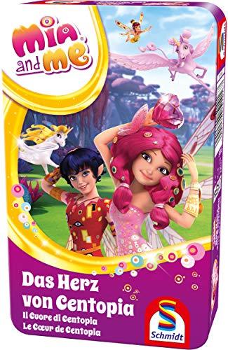 Schmidt Spiele 51416 Mia & Me, Das Herz von Centopia, Bring Mich mit Spiel in der Metalldose, bunt