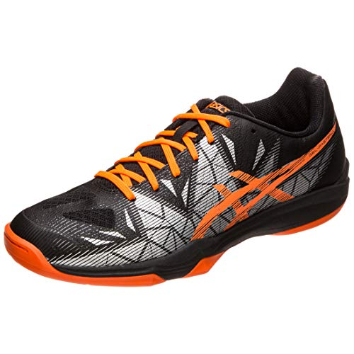 ASICS Gel-Fastball 3 Handballschuh Herren schwarz/orange, 11.5 US - 46 EU