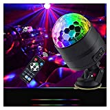 ZhanMa Éclairage de scène- Portable Commande vocale USB avec télécommande DJ lumières de scène for Festival Bar Accueil Party Club Bridal Show 11/29