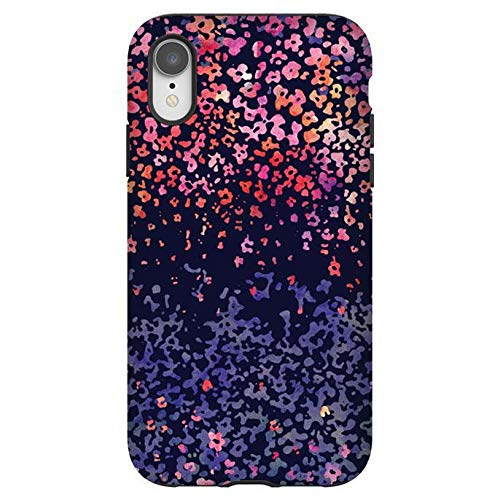 Screenflair Designer-Schutzhülle für iPhone XR | leicht | zweilagig | Falltest zertifiziert | kabelloses Laden kompatibel – Artistic Flowers iPhone Bundle
