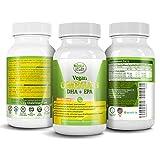 POTENT VEGAN OMEGA 3 Supplement- Better Than Fish Oil- w/Essential Fatty Acids, DHA EPA DPA- Marine Algal Based- Non GMO - Improve Immune System, Joint, Eye, Heart, Skin & Brain Health- 2 Month Supply