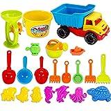 AMITas 21St. Sandspielzeug Mädchen Sandspielzeug Junge Sandkasten Spielzeug Strand Spielzeug