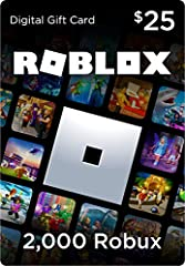 Get a virtual item when you redeem a Roblox gift card! Spend your Robux on new items for your avatar and additional perks in your favorite games. The ultimate gift for any Roblox fan. Discover millions of free games on Roblox and play with friends on...