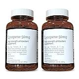 lycopin 50mg x 360 tabletten (2 flaschen von 180 tabletten jede - 12 monate versorgung). Dreifach the stärke von normal Lycopin ergänzt. SKU: LY3x2