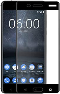 3D Full Screen Surfaces Tempered Glass Screen Protector By Ineix For Nokia 5 - Black