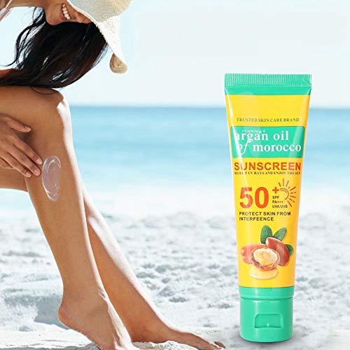 Crema De Protección Solar, Blanqueamiento Hidratante Loción Mujeres Crema De Cara Y Cuerpo, Spf50 Crema Solar 50 Para Filtros Solares +, Protección Uva/Uvb, 50G(#3)