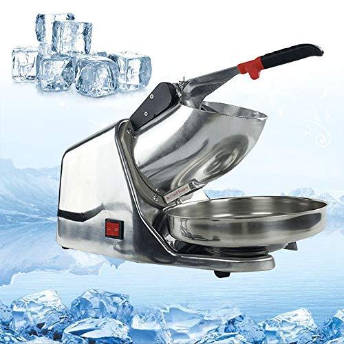sujrtuj Edelstahl 380W 220V Eiscrusher Crushed Ice Maschine Elektrische kommerziell