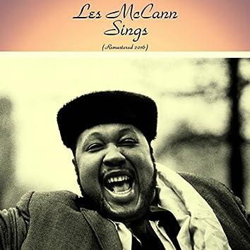"Les McCann Sings (feat. Ben Webster / Richard ""Groove"" Holmes / Gerald Wilson / Buddy Collette / Harold Land) [Remastered 2016]"
