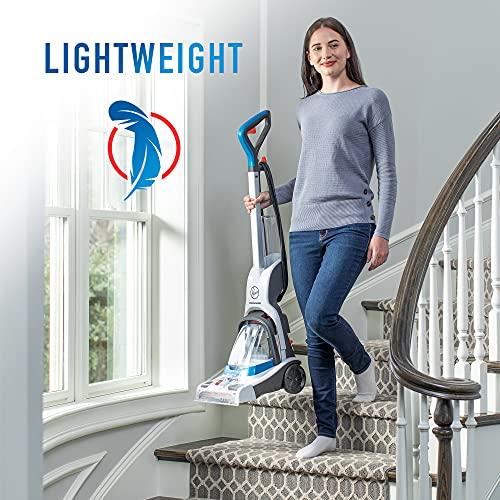 Hoover PowerDash Pet Compact Carpet Cleaner, Shampooer Machine, Lightweight, FH50700, Blue
