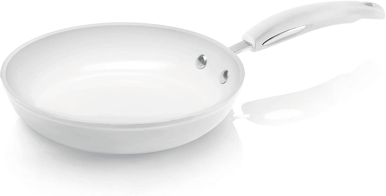 Bialetti JOWIPAN240 - Sartén (24 cm), Color Blanco