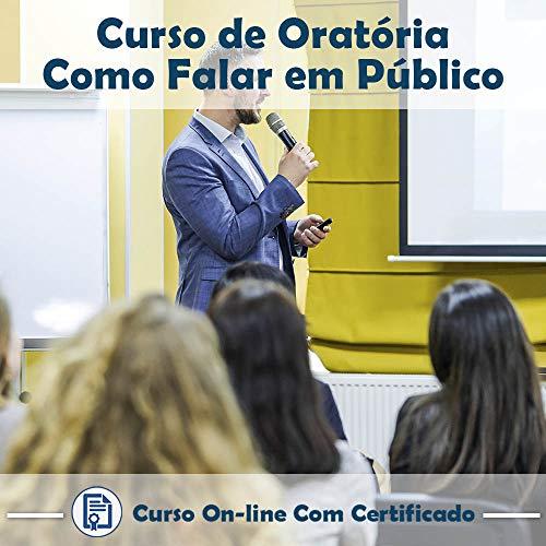 Curso Online de Curso de Oratória: Como Falar em Público com Certificado