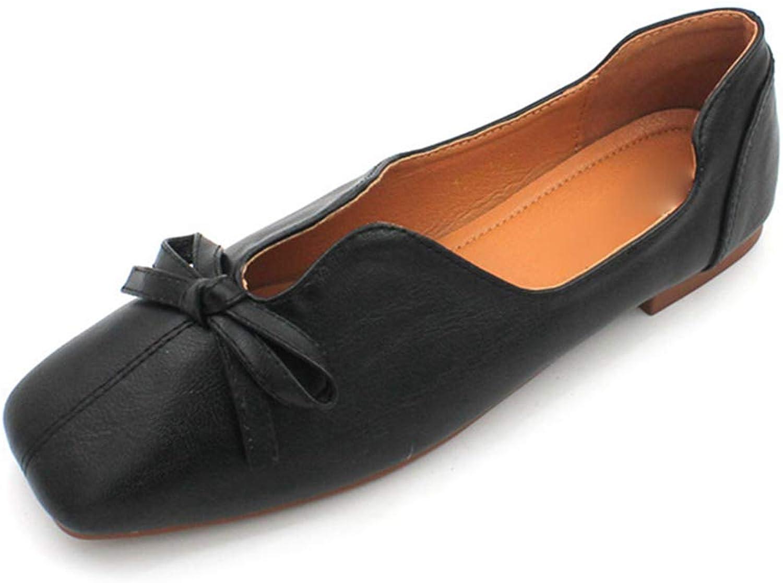 Kyle Walsh Pa Women Vintage Ballet Flats Ladies Slip-on Comfortable Autumn Spring Footwear