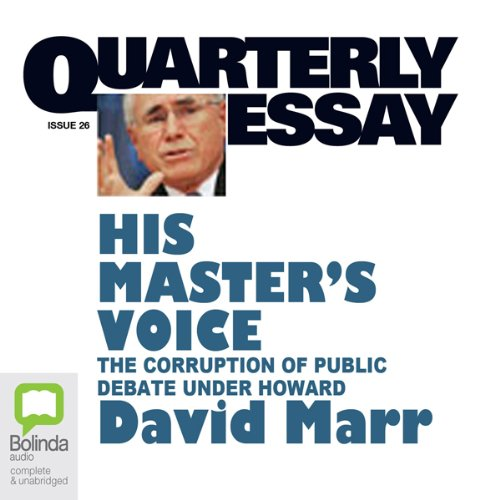 Quarterly Essay 26 audiobook cover art