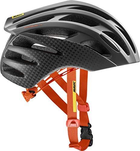 Mavic Ksyrium Pro - Casco de Bicicleta Hombre - Naranja/Negro Contorno de la Cabeza S | 51-56cm 2018