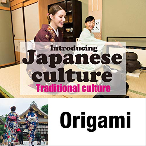 『Introducing Japanese culture -Traditional culture- Origami』のカバーアート