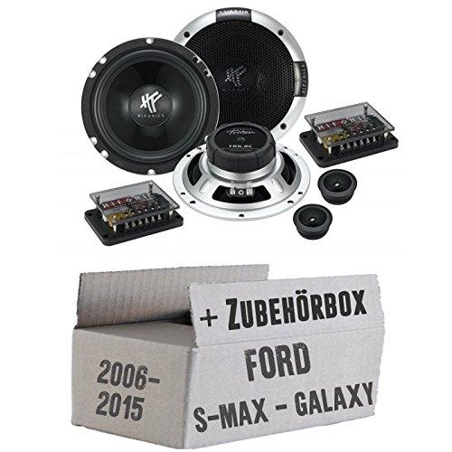 Hifonics Triton TR 6.2C - 16,5cm Komposystem Lautsprecher - Einbauset für Ford S- JUST SOUND best choice for caraudio