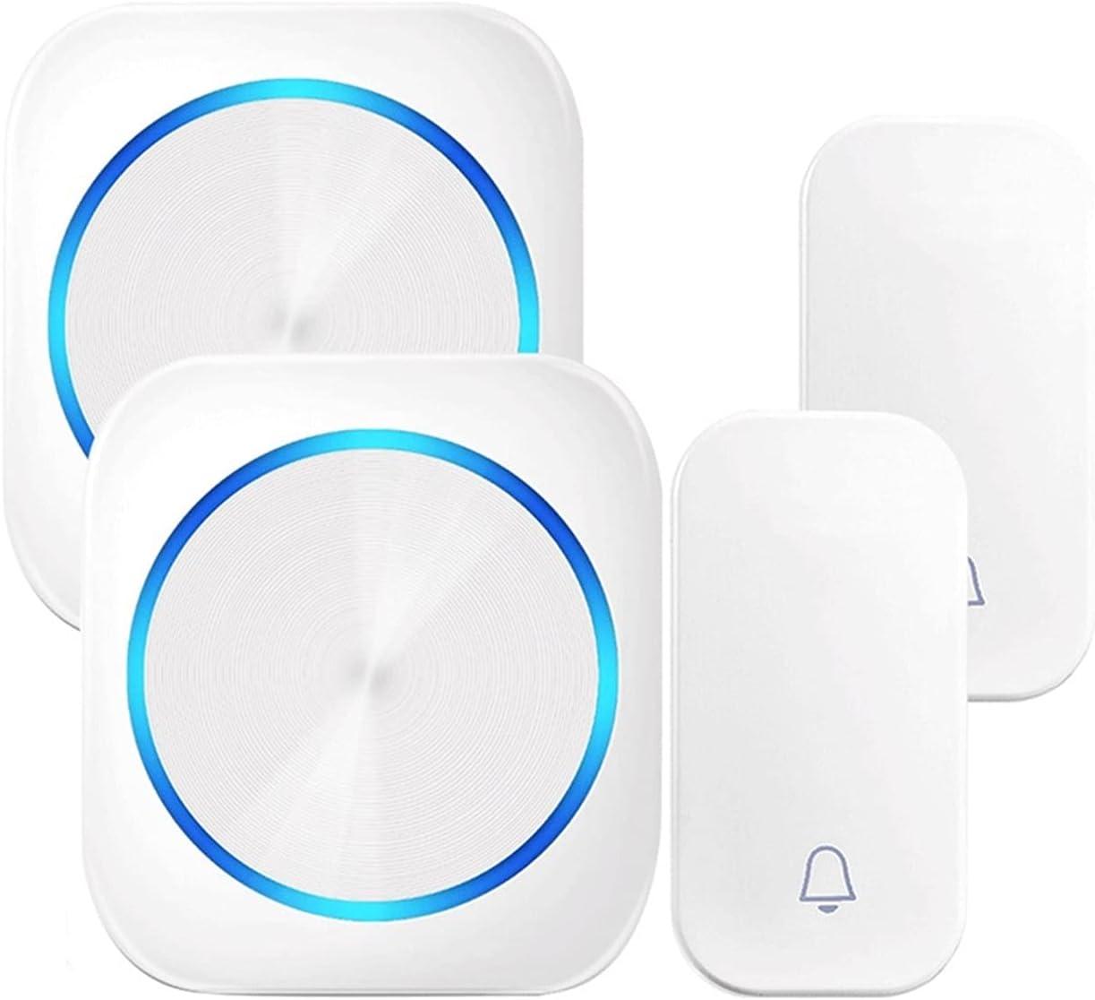 Self-Powered Excellent Wireless Door Bell Waterproof New product type Doo Night Light Mode
