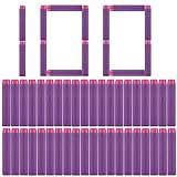 PeleusTech Refill Bullets, 100Pcs Dart Refills for Nerf...