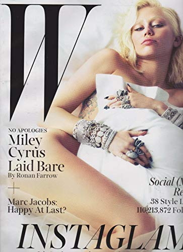 W Magazine March 2014, Miley Cyrus Laid Bare, Marc Jacobs