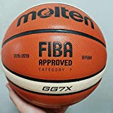 RoofWorld Molten GG7X Offical Size #7 PU Leather in/Outdoor Basketball Play Training Ball