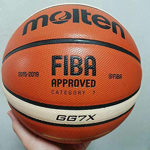 Best Prices! RoofWorld Molten GG7X Offical Size #7 PU Leather in/Outdoor Basketball Play Training Ba...