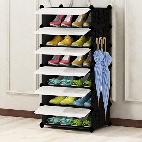 Eenvoudige montage, schoenenbox, mini-pantoffel, ruimtebesparend, voor tablet/slaapzaal, creatieve opbergdoos, schoenenbox, laarzen, frame voor schoenen (maat: E)