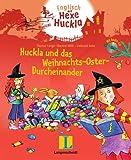 Huckla und das Weihnachts-Oster-Durcheinander - Buch mit Musical-CD: Englisch mit Hexe Huckla - Thomas Lange
