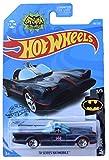 Hot Wheels Batmobile 118/250, Black with Blue Flames