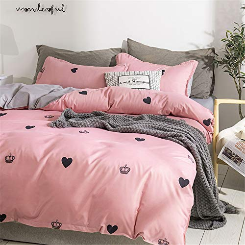 cortinas habitacion rosa y blanco