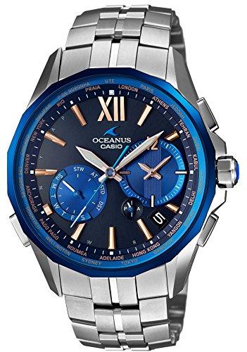 [カシオ] 腕時計 オシアナス Manta 世界6局対応電波ソーラー OCW-S3400C-2AJF シルバー
