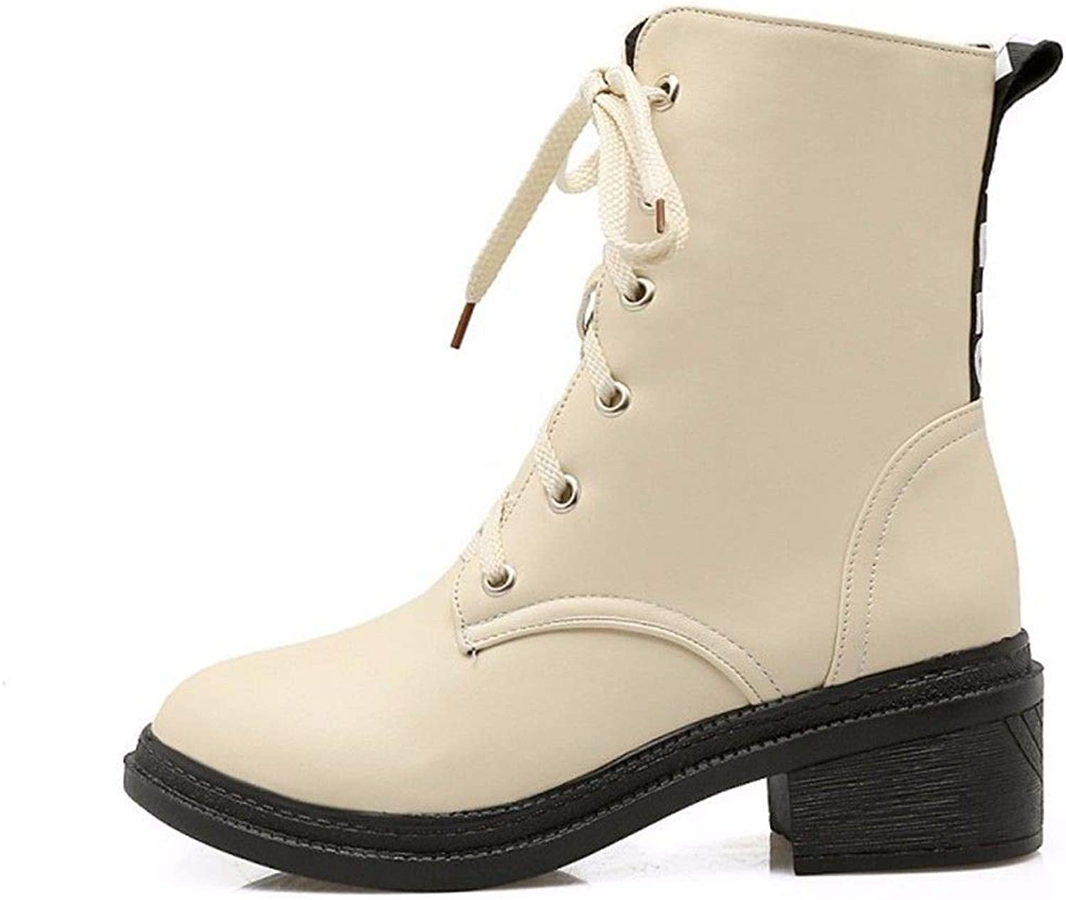 Autumn and Winter Women's tie UPS, Martin Boots, Short Barrel Students' Casual Boots