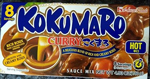 Kokumaro Curry Hot 49 oz One pack