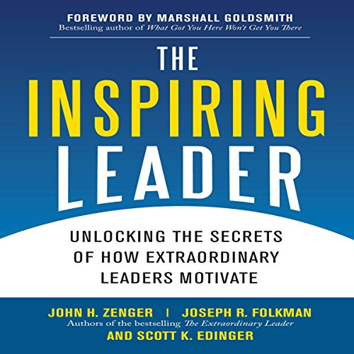 The Inspiring Leader audiobook cover art