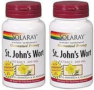 St. John's Wort - Hiperico 300mg 60 veg caps (Pack 2 u.)