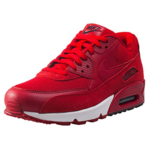 Nike Schuhe Air MAX 90 Essential Gym Red-Gym Red-Black-White (537384-604) 48,5 Rot