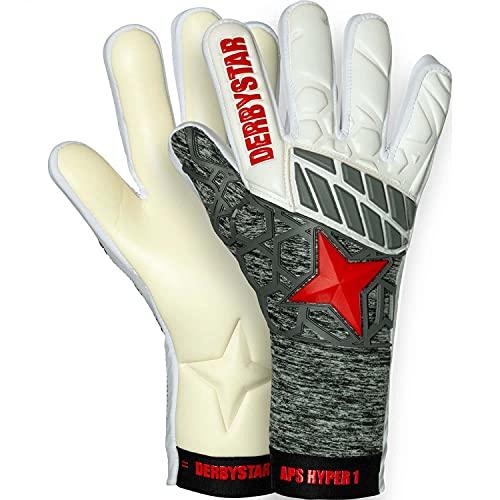 Derbystar APS Hyper I Handschuhe Unisex, Weiss grau rot, 10