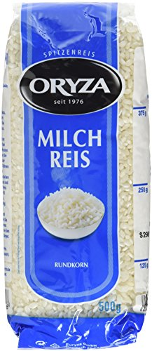 Oryza Milchreis Rundkorn (1 x 500 g Packung)