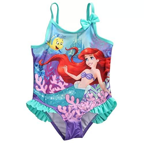VIOYO Traje de bao de Sirena para nias y bebs, Traje de bao de una Pieza, Traje de bao con Nudo de Lazo, Bikini, Ropa de Playa para Nadar