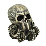Pacific Giftware Cthulhu Skull Collectible Figurine Antique Bronze Finish 6 Inch Tall